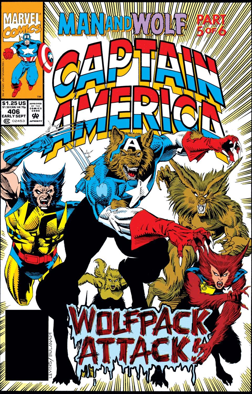 Captain America (1968) #406