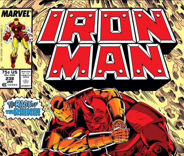Iron Man (1968) #238 Cover