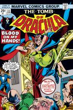 Tomb of Dracula (1972) #33 cover