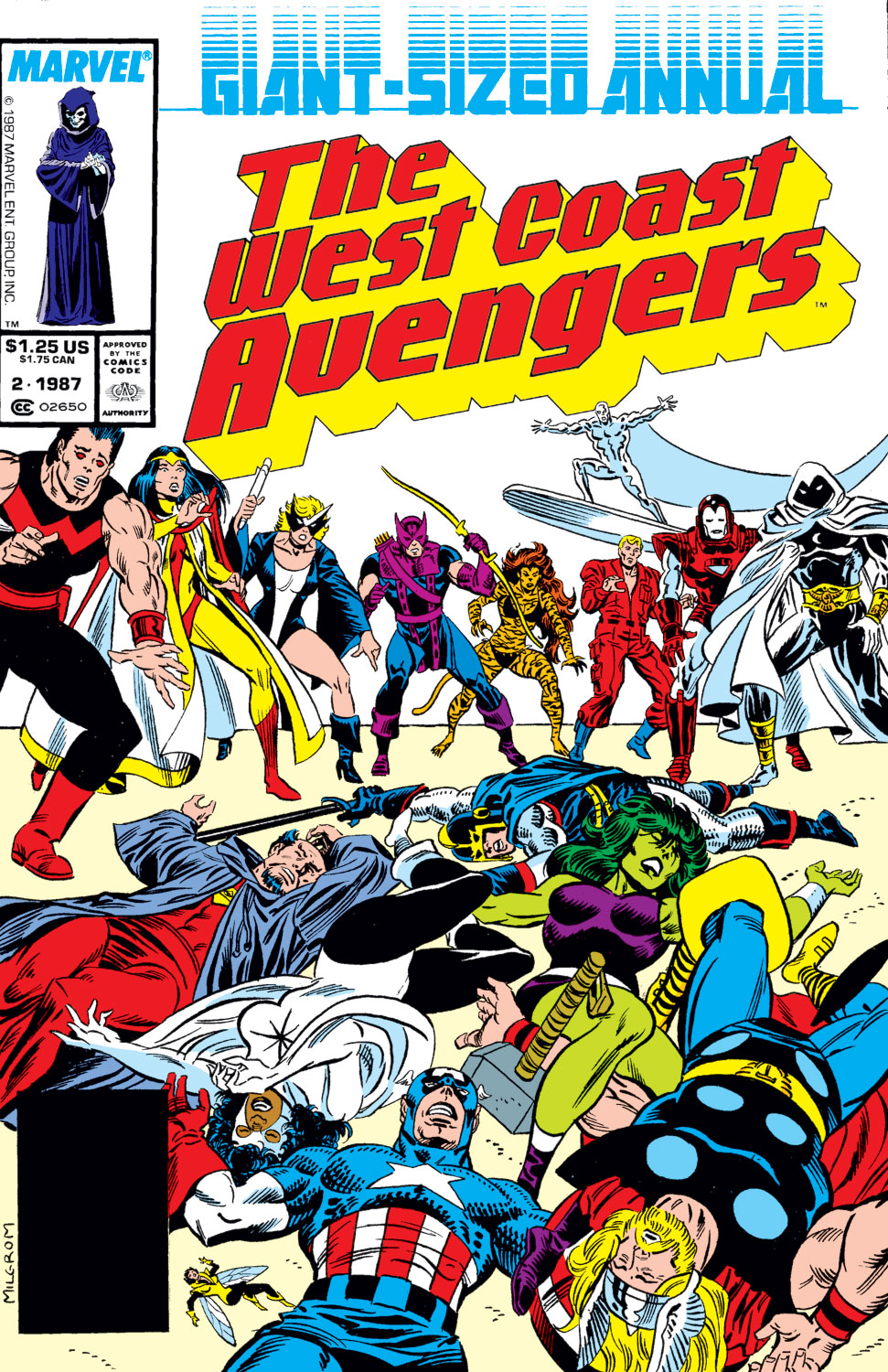 West Coast Avengers Annual (1986) #2