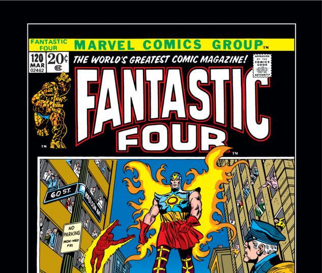 Fantastic Four (1961) #120 Cover