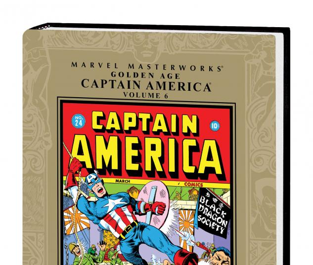 MARVEL MASTERWORKS: GOLDEN AGE CAPTAIN AMERICA VOL. 6 HC