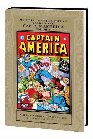 Marvel Masterworks: Golden Age Captain America (Hardcover)