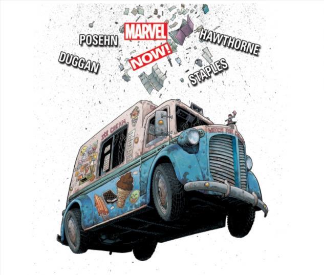 Deadpool (2012) #8 cover by Art Adams