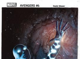 Avengers (2012) #6 cover by Dustin Weaver