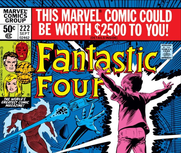 Fantastic Four (1961) #222 Cover