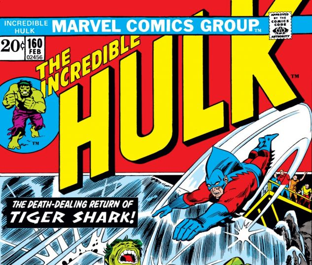 Incredible Hulk (1962) #160 Cover