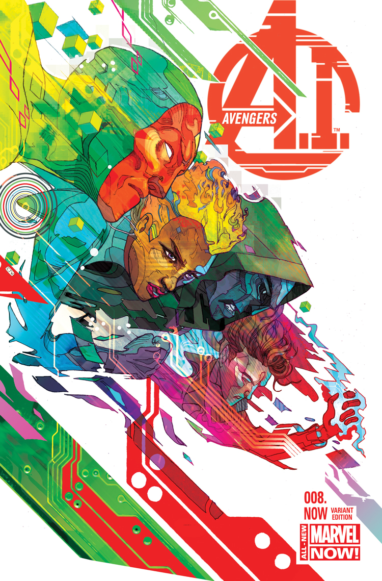 Avengers A.I. (2013) #8 (Ward Variant)