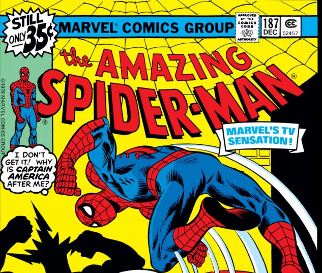 Amazing Spider-Man (1963) #187 Cover