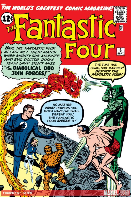 Fantastic Four (1961) #6