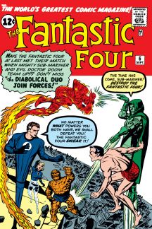 Image result for fantastic four 6 cover