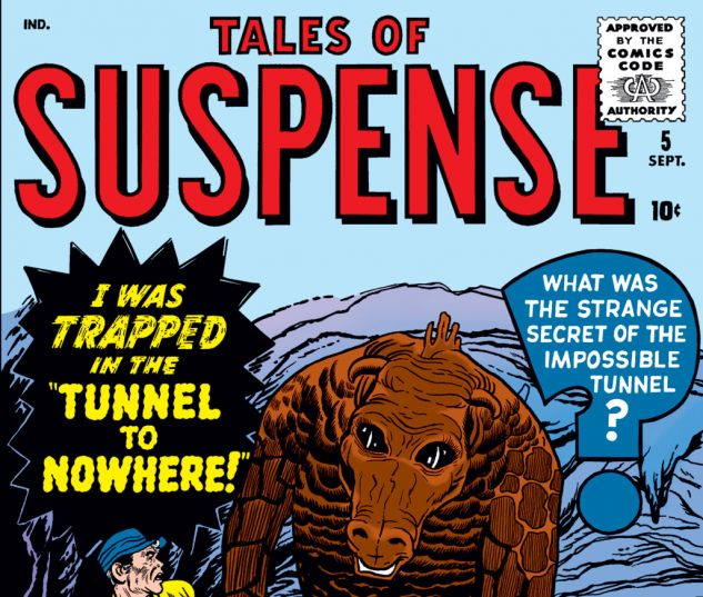 Tales of Suspense (1959) #5 Cover