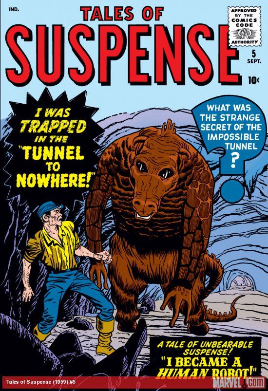 Tales of Suspense (1959) #5