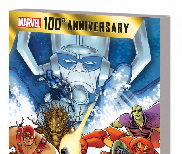 MARVEL 100TH ANNIVERSARY TPB