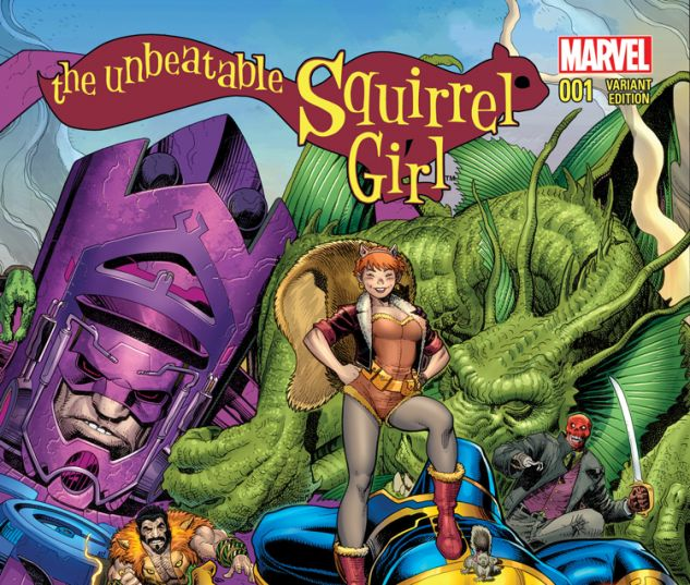 THE UNBEATABLE SQUIRREL GIRL 1 ADAMS VARIANT (WITH DIGITAL CODE)