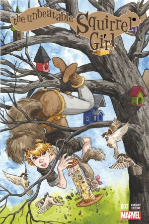 The Unbeatable Squirrel Girl (2015) #3 (Thompson Variant)