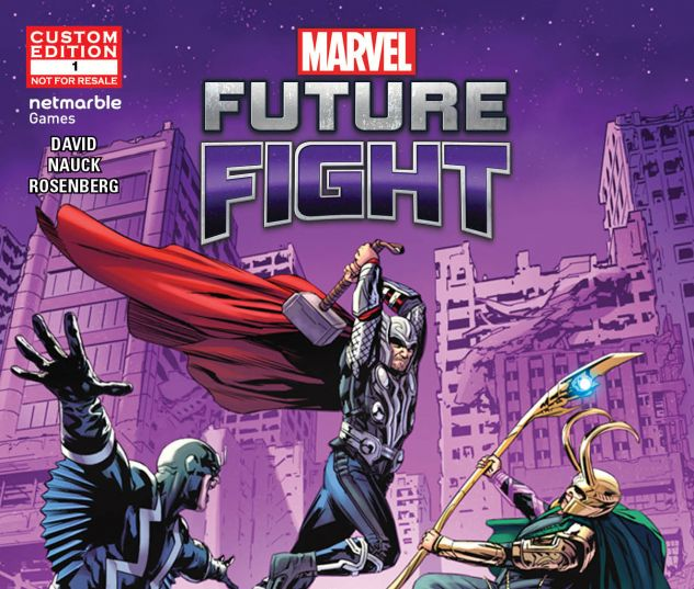 Marvel Future Fight Series Image Cover