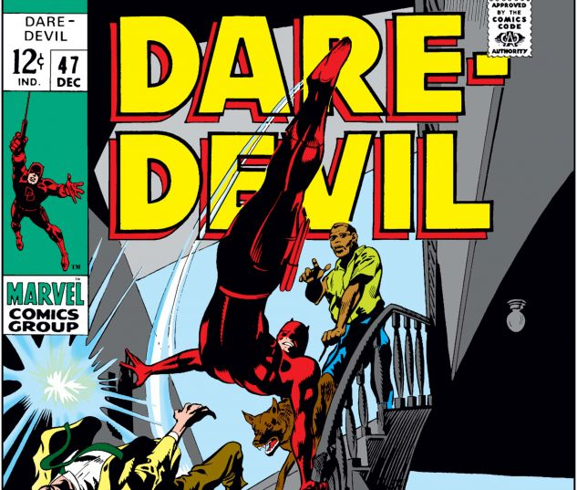 DAREDEVIL (1964) #47 Cover
