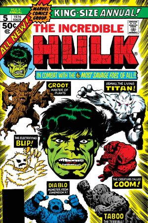 Incredible Hulk Annual (1968) #5