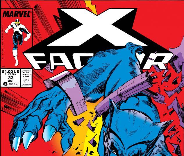 X-FACTOR (1986) #33