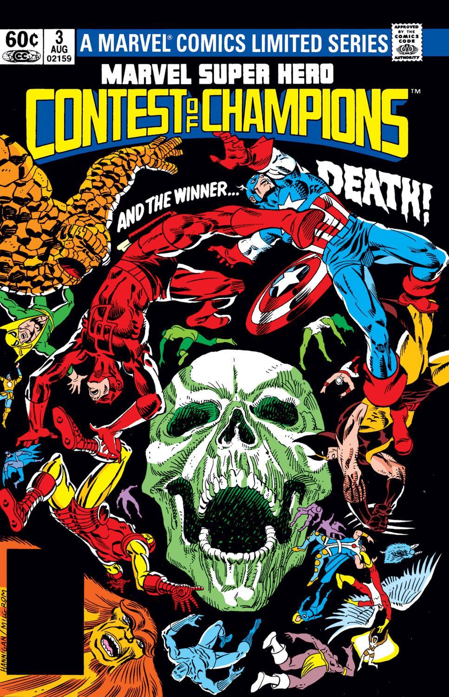 Marvel Super Hero Contest of Champions (1982) #3