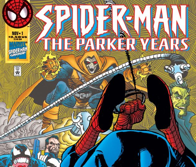 cover to The Parker Years