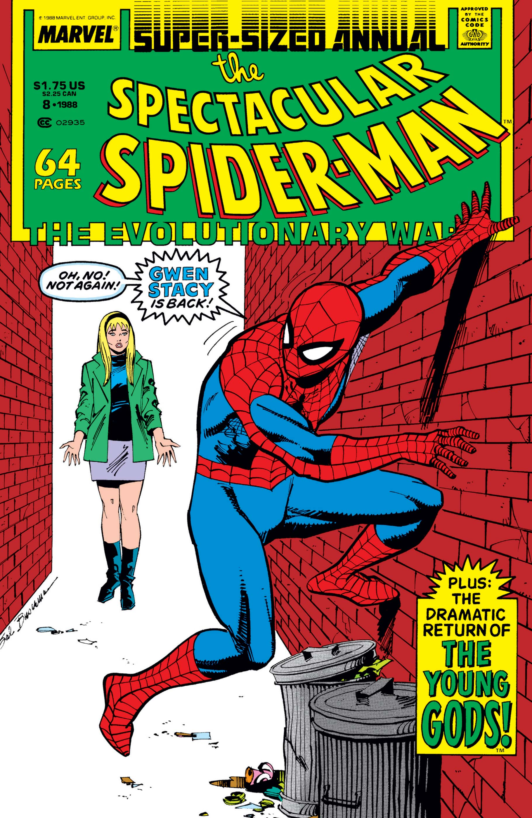 Peter Parker, the Spectacular Spider-Man Annual (1979) #8