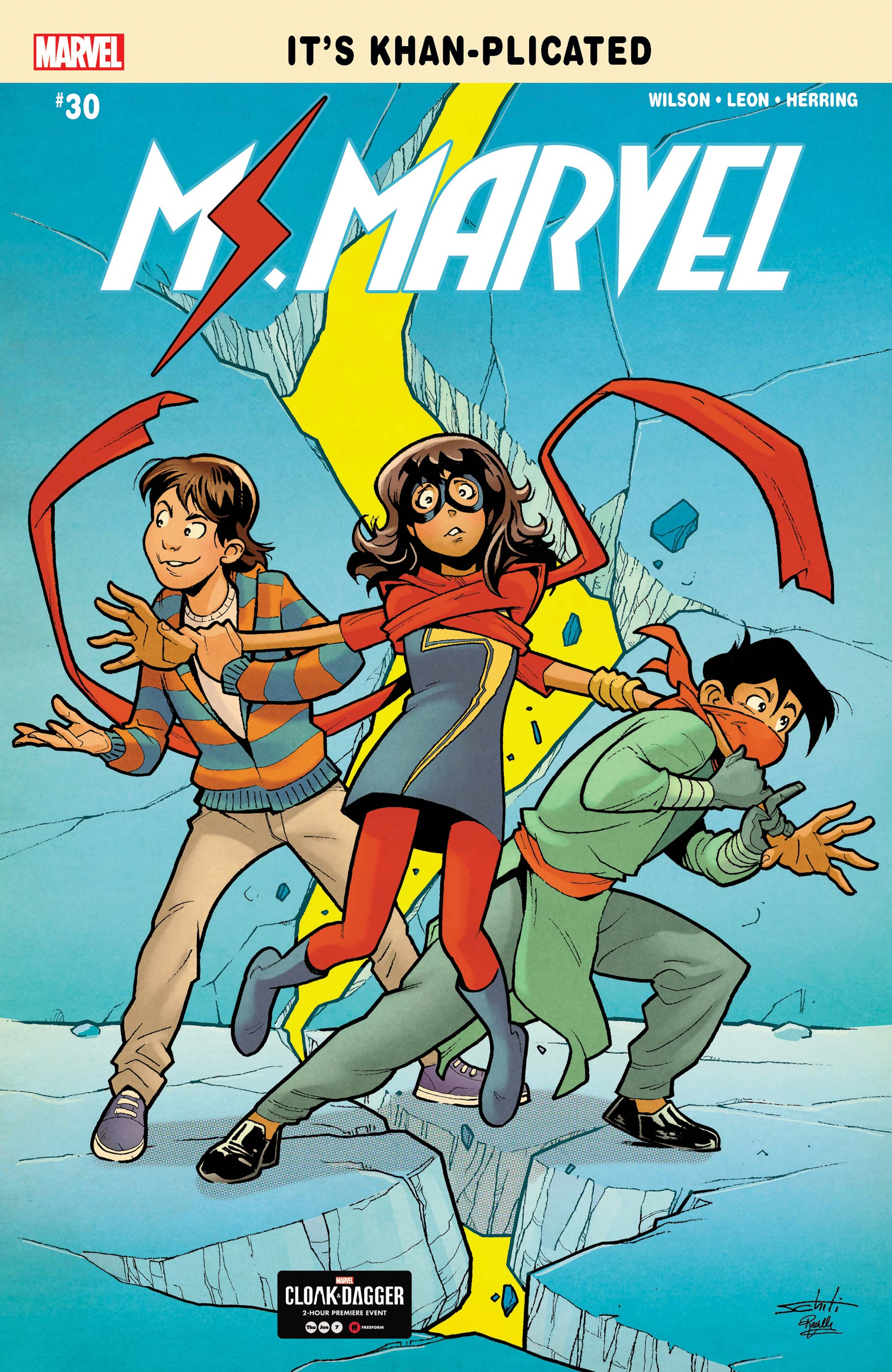 Ms. Marvel (2015) #30