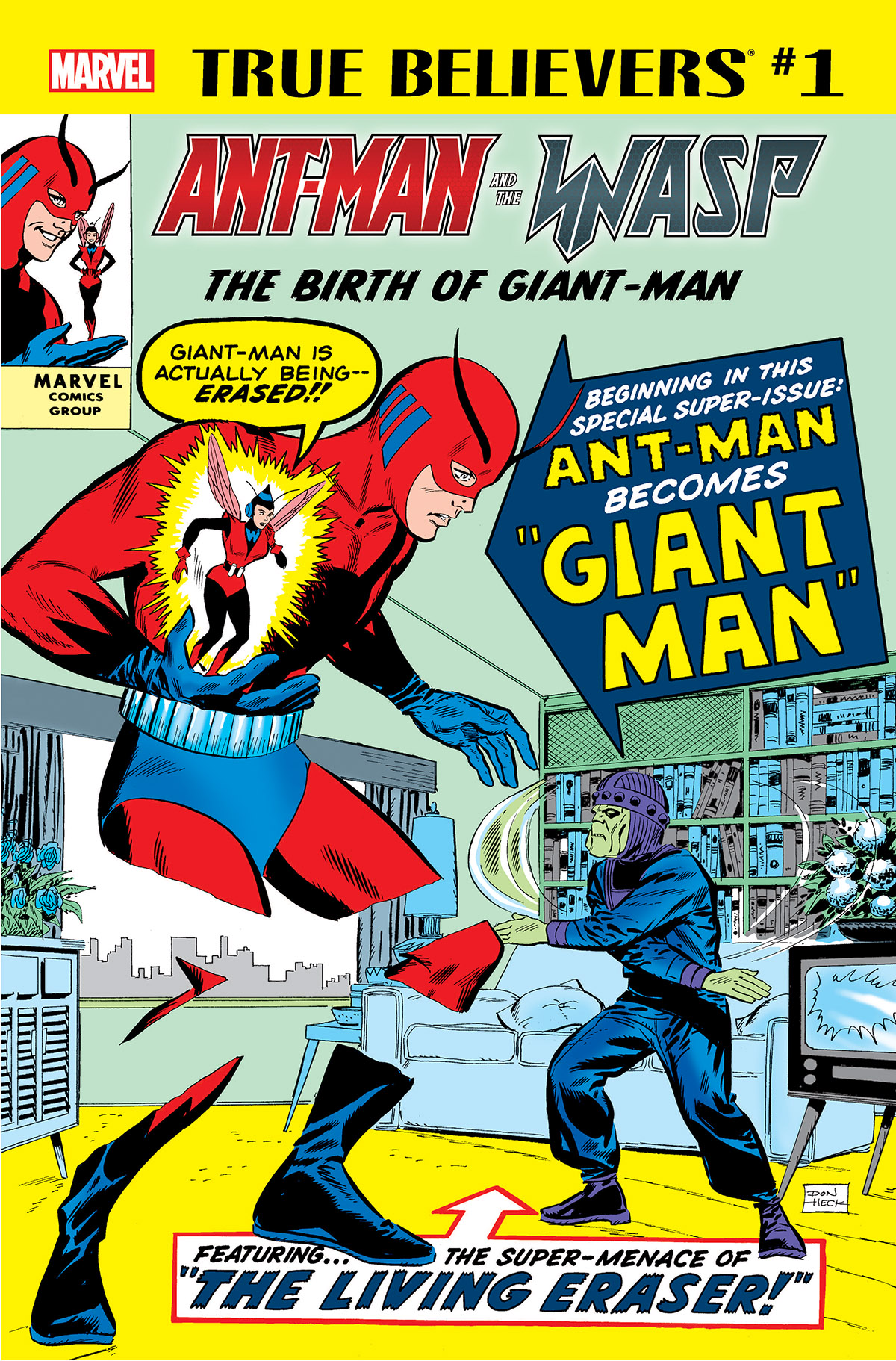 True Believers: Ant-Man and the Wasp - The Birth of Giant-Man (2018) #1