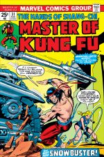 Master of Kung Fu (1974) #31 cover