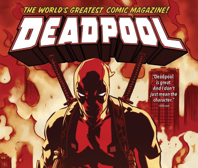 cover from DEADPOOL: WORLD'S GREATEST VOL. 5 HC (2018) #5