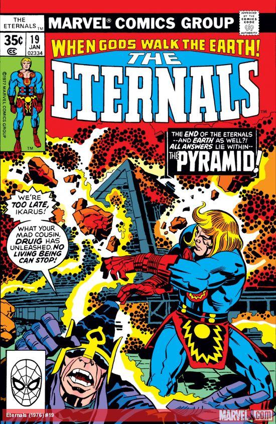 Eternals (1976) #19