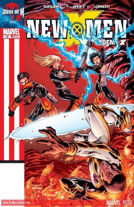 New X-Men (2004) #19