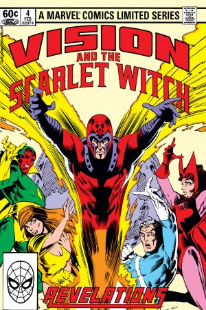 Vision and the Scarlet Witch (1982) #4