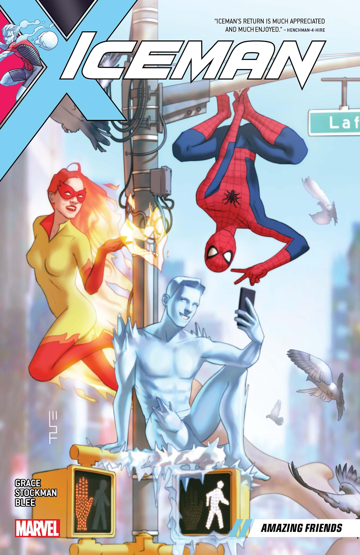 Iceman Vol. 3: Amazing Friends (Trade Paperback)