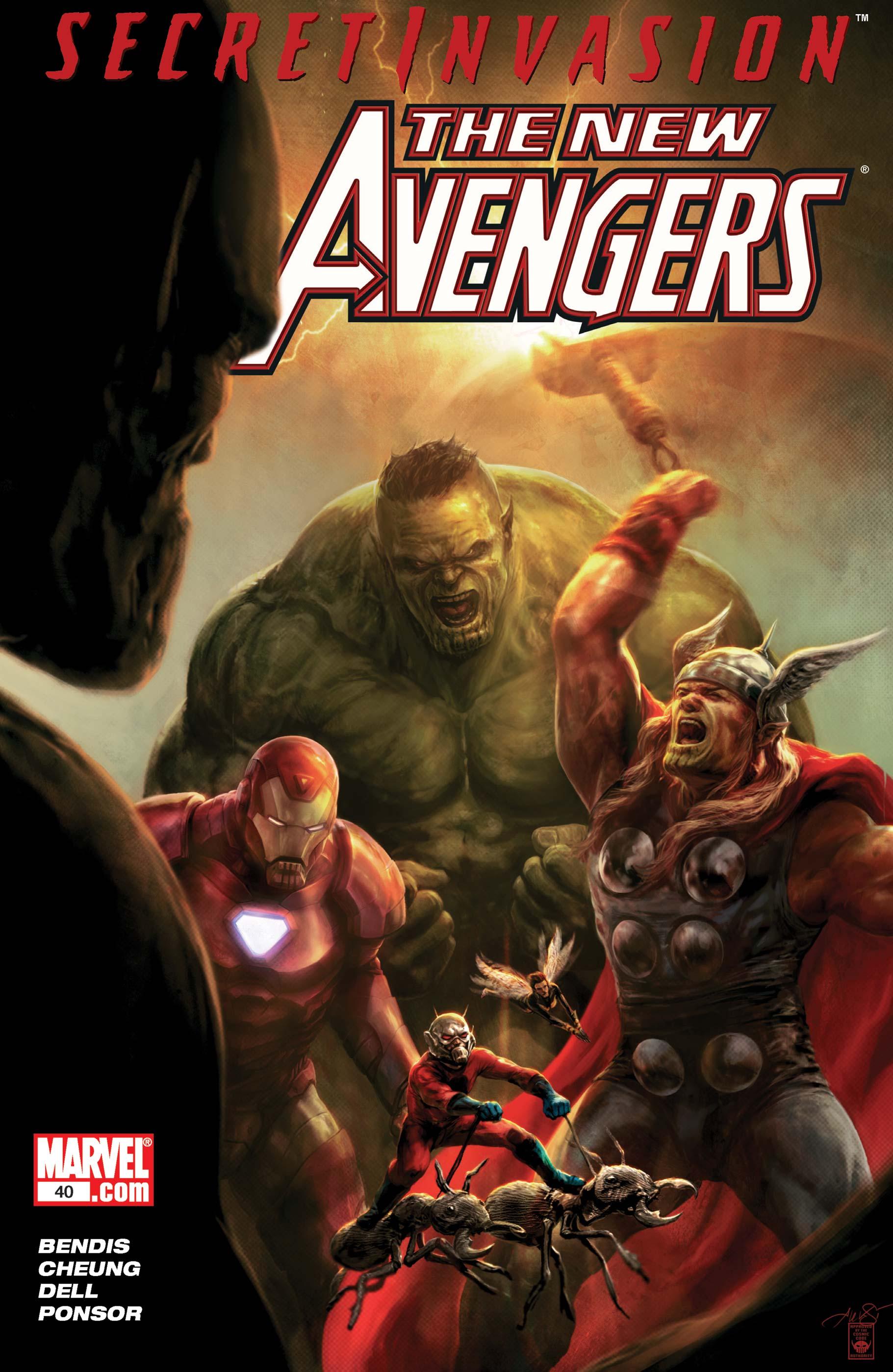 New Avengers (2004) #40