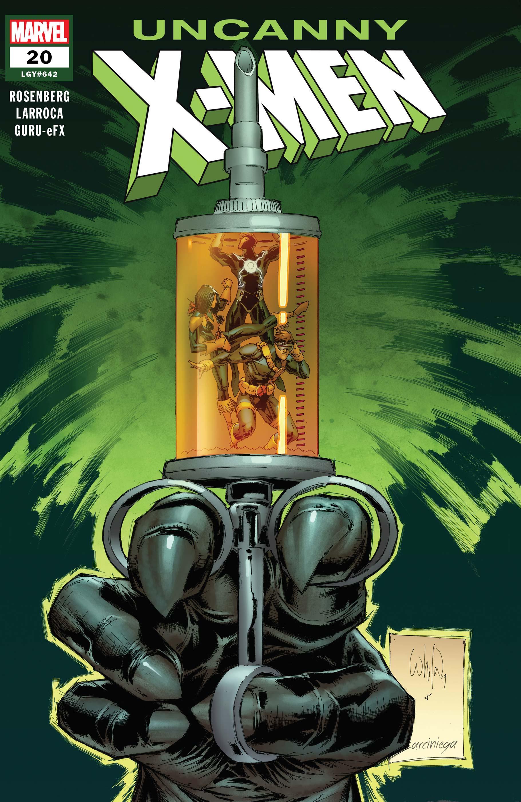 Uncanny X-Men (2018) #20