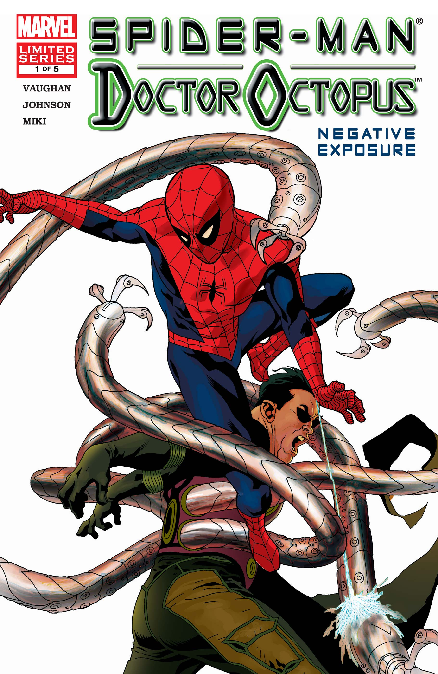 Spider-Man/Doctor Octopus: Negative Exposure (2003) #1