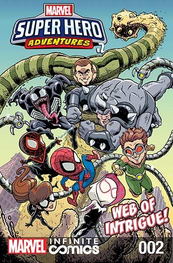 Marvel Super Hero Adventures: Spider-Man - Web of Intrigue (2019) #2