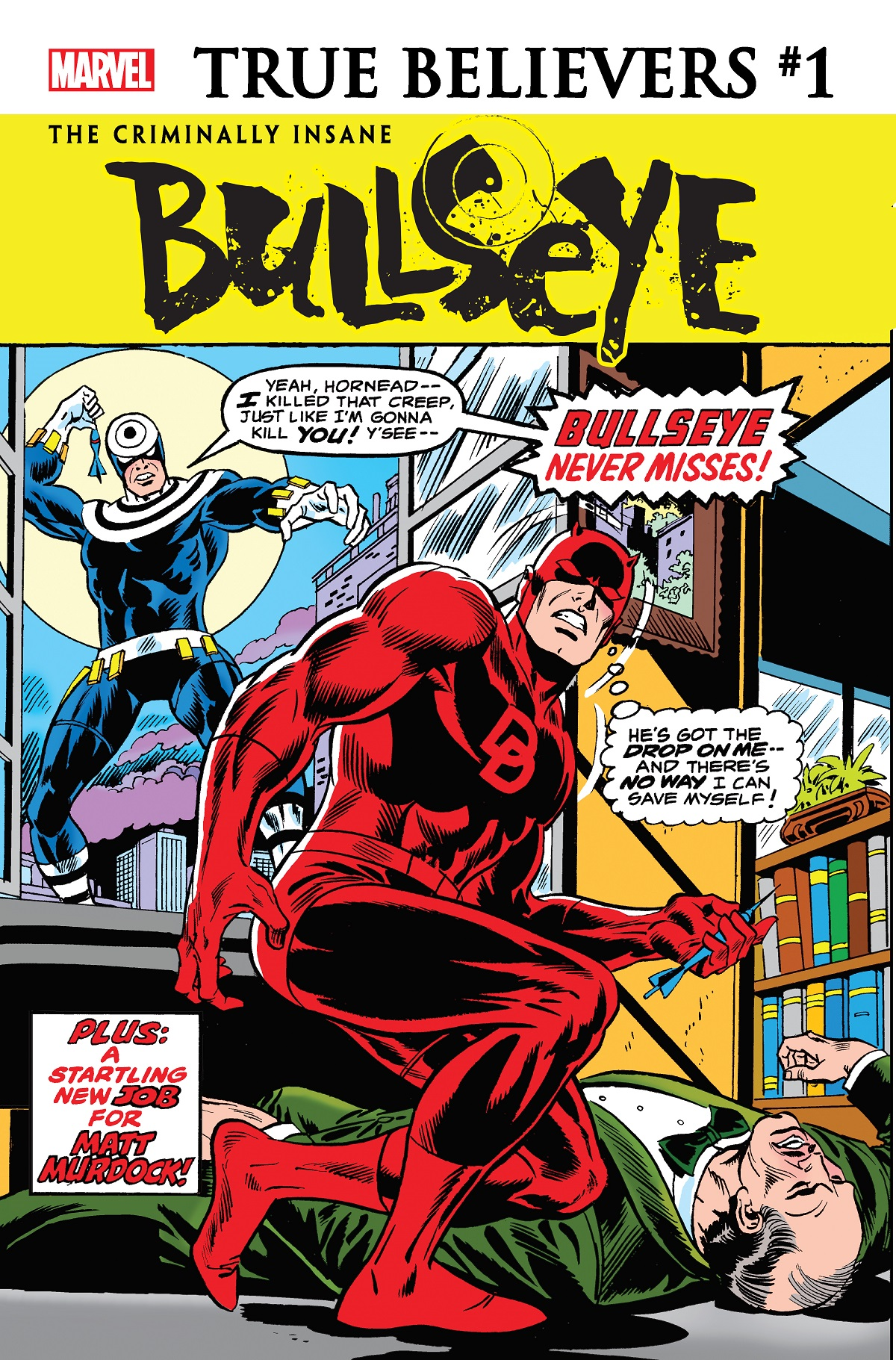 True Believers: The Criminally Insane - Bullseye  (2020) #1