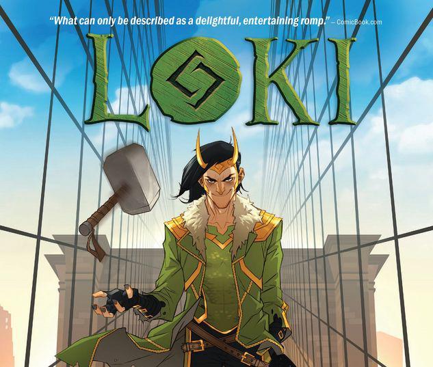 LOKI: THE GOD WHO FELL TO EARTH TPB #1