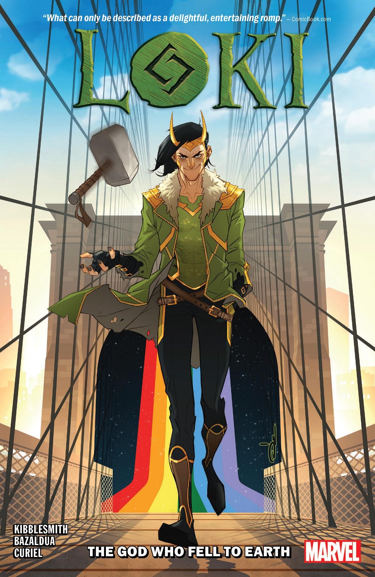 Loki: The God Who Fell To Earth (Trade Paperback)