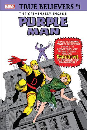 True Believers: The Criminally Insane - Purple Man #1