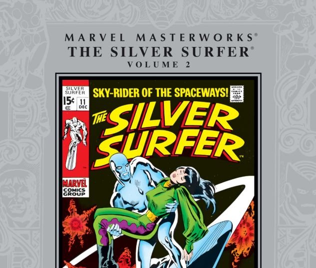 Marvel Masterworks: The Silver Surfer Vol. 2 0 cover