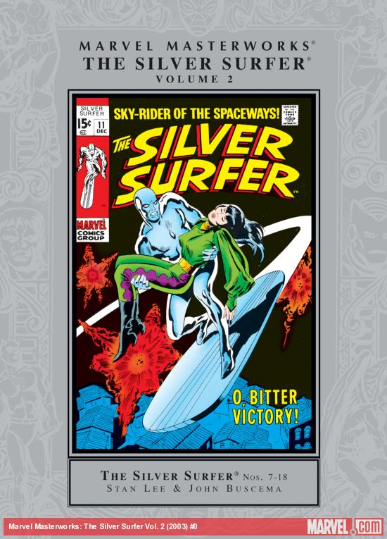 Marvel Masterworks: The Silver Surfer Vol. 2 (Hardcover)