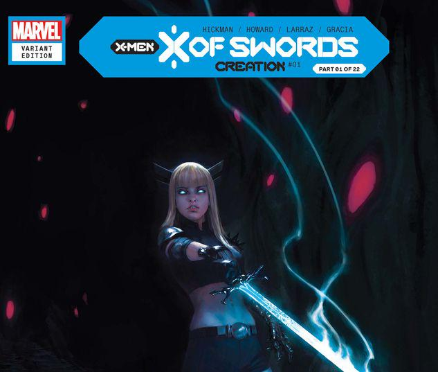 X OF SWORDS: CREATION 1 MERCADO VARIANT #1