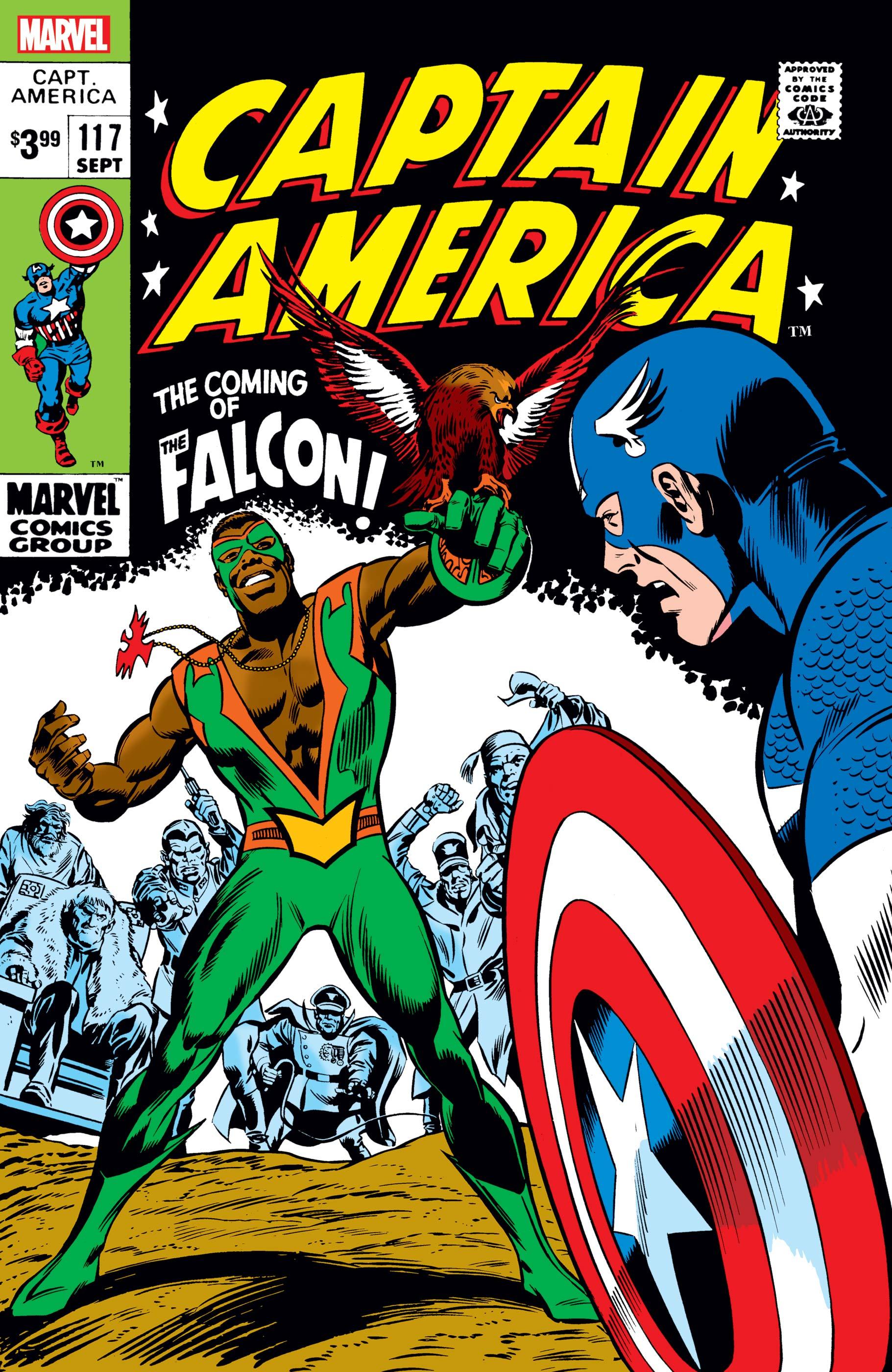 Captain America #117: Facsimile Edition (2021)