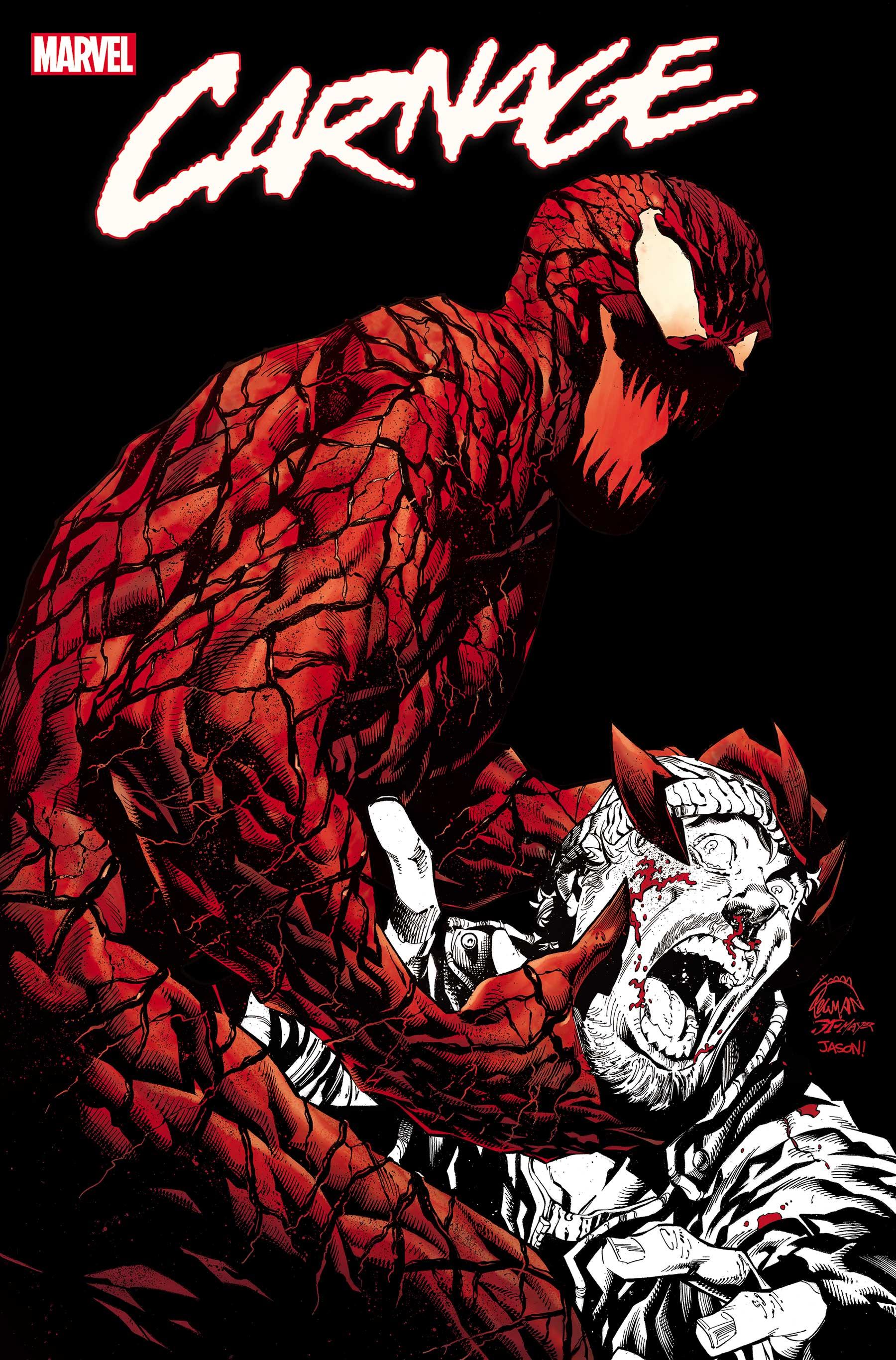 Carnage: Black, White & Blood (2021) #4