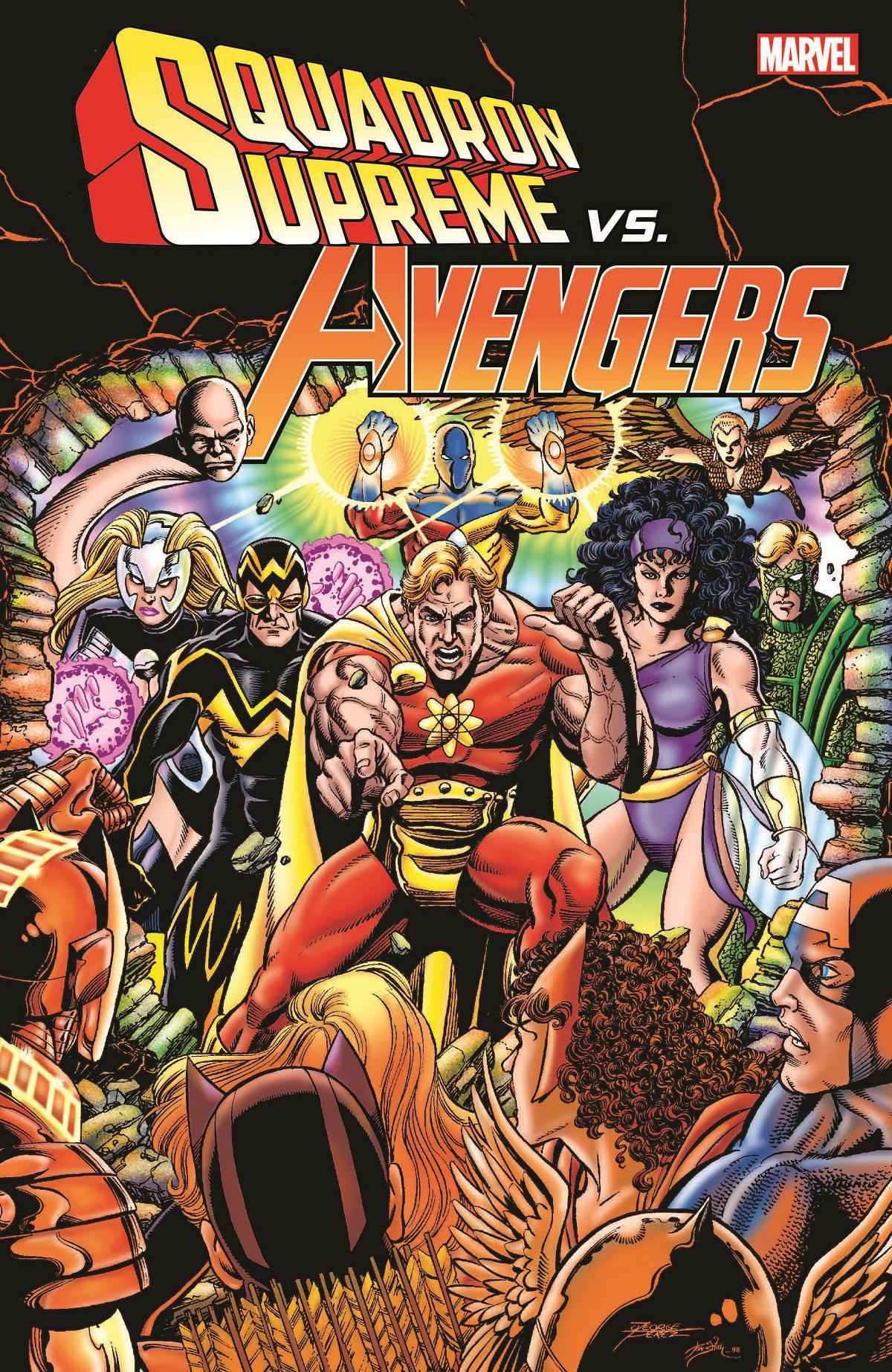 Squadron Supreme vs. Avengers (Trade Paperback)