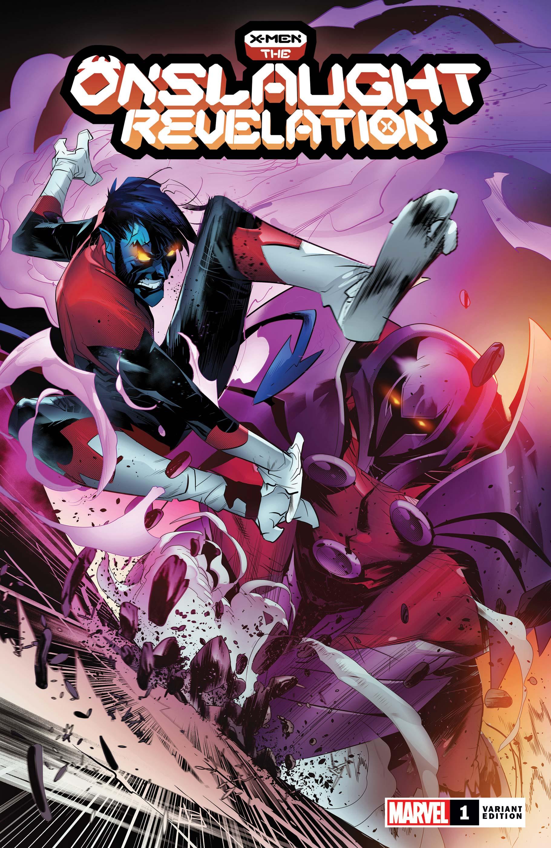 X-Men: The Onslaught Revelation  (2021) #1 (Variant)
